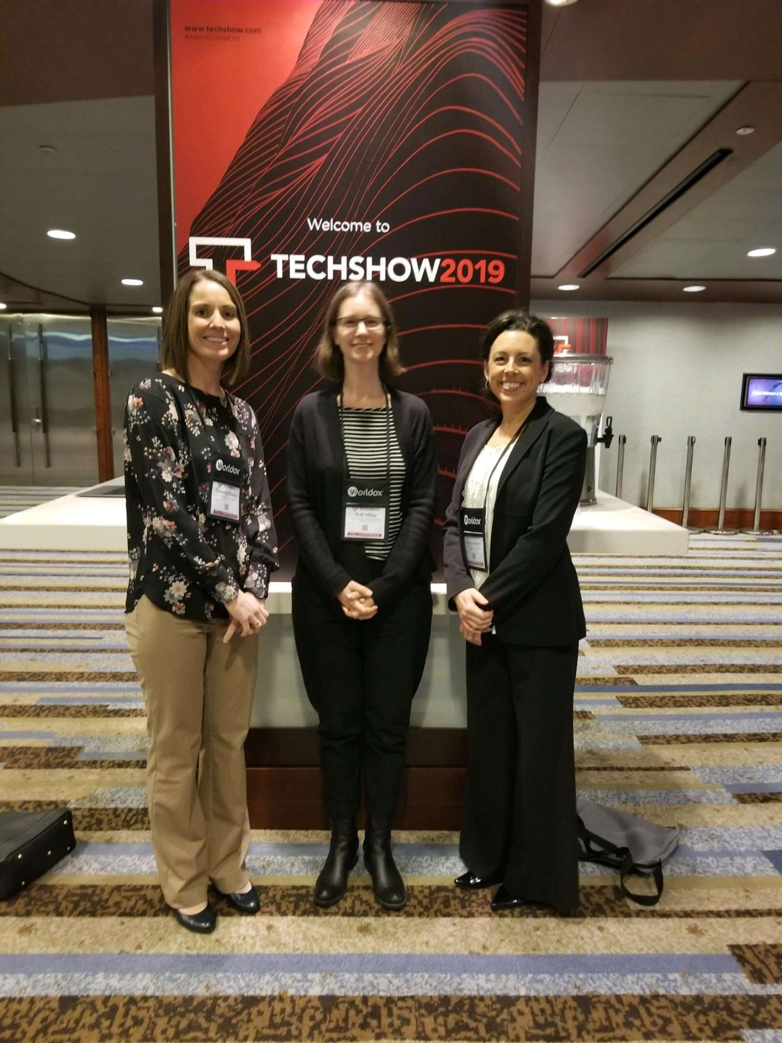 The Lynn Jackson team stays up-to-date on legal technologies at the ABA TECHSHOW
